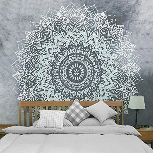 NGHSDO Tapiz Pared Tapices colgados de la Pared de la decoración Manta Estilo de Yoga Dormir tapicería de la Pared Tela Tapices De Pared (Color : CH 1, Size : 100X75CM)