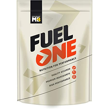 MuscleBlaze Fuel One Whey Protein Immunity+, 2.2lb/1 Kg, Chocolate