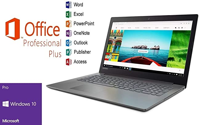 Laptop Lenovo 320-15IAP 256GB SSD 8GB RAM Windows 10 Pro MS Office 2016 Pro 39cm 15 6 quot LED TFT Schätzpreis : 459,00 €