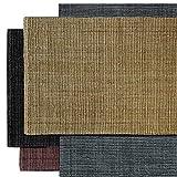 alfombra fibras naturales grande