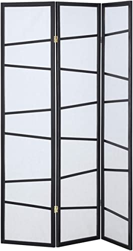 new arrival Giantex 3 Panel Folding Privacy Screen popular Room Divider Shoji Screen with A Pattern Living Room Bedroom discount Furniture sale
