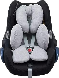 Reducer Cushion Infant Head & Baby Body Support Antiallergic Janabebe Stone Grey