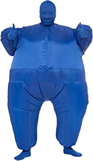 OZSTOCK Fan Operated Inflatable Fancy Chub Fat Masked Suit Costume Blow Up Dress