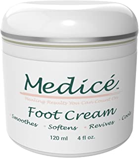 Medice Foot Cream 4 oz - Premier Foot Cream For Dry Cracked Feet - Callus Remover - Best Dry Feet Treatment & Heel Cream On The Market - Made With Shea Butter