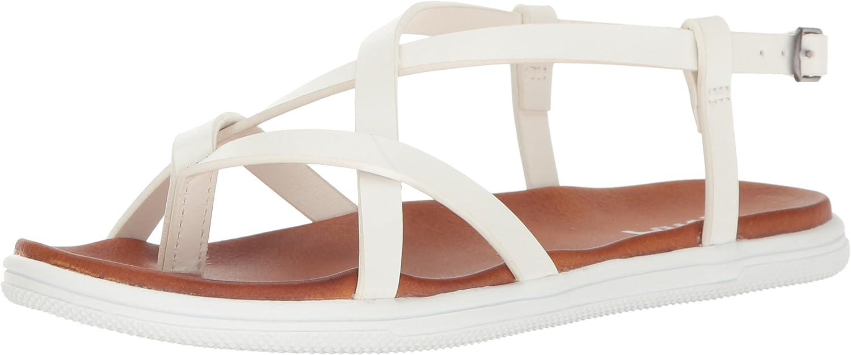 MIA Womens Elana Flat Sandal