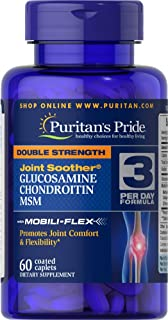 Puritan's Pride Glucosamine Chondroitin MSM- 60 Caplets