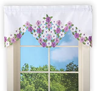 Best flower window valance Reviews