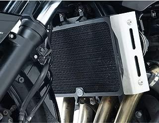 R&G Racing 07-09 Suzuki GSF1250S Aluminum Radiator Guard (1 Piece) (Black)