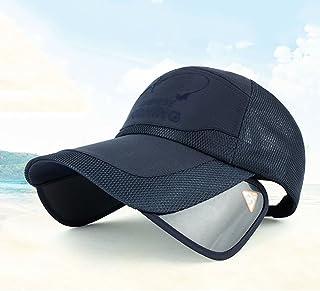 LONGren Summer Baseball Cap, Unisex Sun Hat, Mesh Breathable Golf Cap, Outdoor Mountaineering Climbing Visor, Widened Exte...