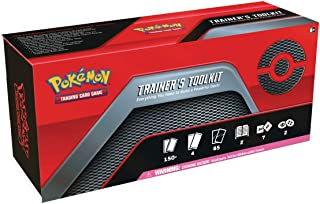 Pokemon TCG Trainers Toolkit Box – 4 Booster Packs, 65 Sleeves, Trainers, GX's and More!