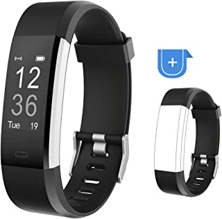 YAMAY Fitness Tracker, Fitness Watch Activity Tracker with Heart Rate Monitor, Sleep Monitor, Step Counter, Calories, 14 S...