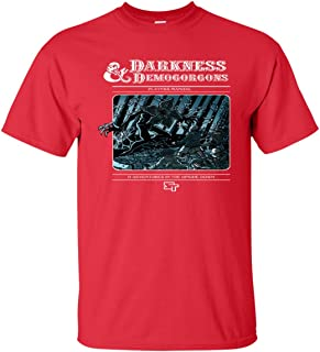 BBASELLER Darkness Stranger & Demogorgons Upside Down Things T-Shirt