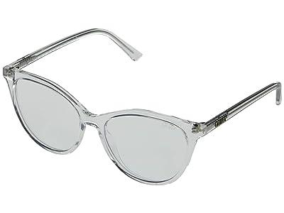 QUAY AUSTRALIA Chrissy X Quay All Nighter (Clear/Clear Blue Light) Fashion Sunglasses
