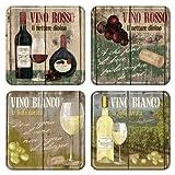Nostalgic-Art 46012 Open Bar - Vino Rosso & Bianco