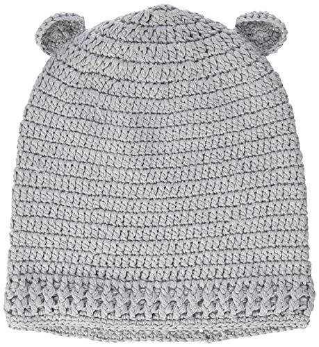 Sterntaler Unisex Baby Strickmütze, Silber mel., 41