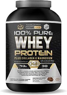 comprar comparacion Whey Protein | Proteina whey pura con colágeno + magnesio | Tonifica y aumenta la masa muscular | Protege músculos y ayuda...
