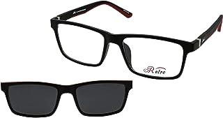 نظارة طبية باطار كامل بلون احمر سي: 4 M من ريترو 4017، (سو) (مشبك)