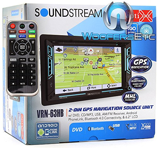 Soundstream VRN‐63HB in Dash Media, 6.2""