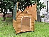 XL Sussex Hundehütte Aus Holz Mit Entfernbarem Boden Zur Einfachen Reinigung B - 2