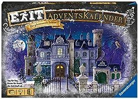 Ravensburger EXIT Adventskalender Das geheimnisvolle Schloss - Ideal für Escape Room-Fans: 24 spannende Rätsel für...