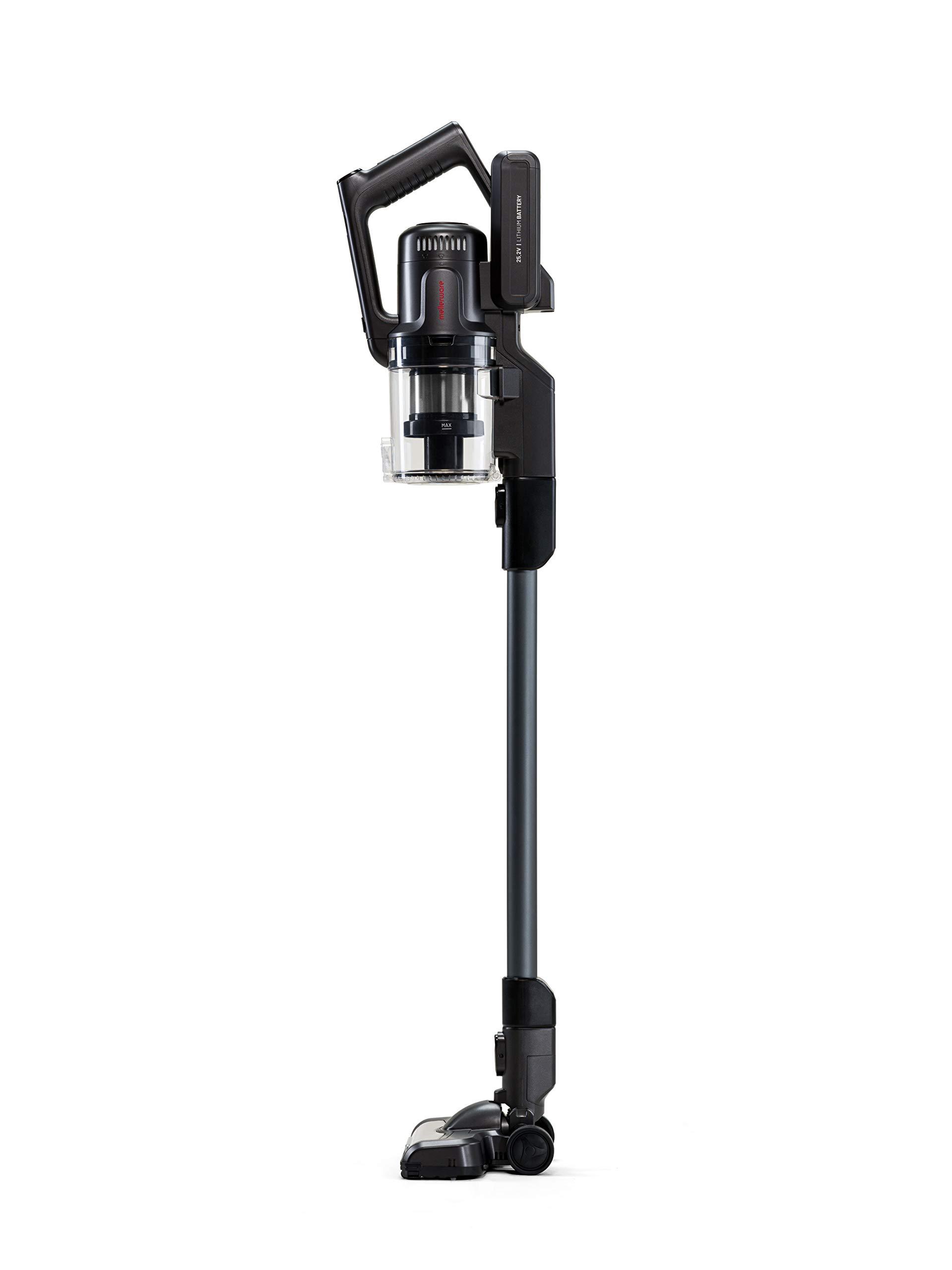Mellerware Aspirador Vertical Inal/ámbrico Rider Pro 400 W Motor Brushless 22KPA de succi/ón Rider Pro