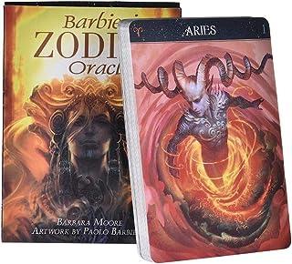 jokeWEN Barbieri zodiac Tarot バルビエリゾディアックオラクルタロット26カードデッキ不思議なガイダンス占い運命