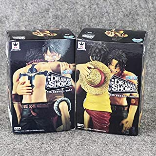 12Cm Japanese Anime Dramatic Showcase Luffy Ace 5Th Season Vol.1 PVC Action Figure Collectible Model Toy New Must Haves Baby Girl Gifts The Favourite DVD Toddler Superhero UNbox Me