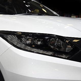 NCUIXZHAdesivo de TPU preto transparente de restauração de farol de carro, para Honda HRV 2016 2017 2018 2019 2020 Acessó...