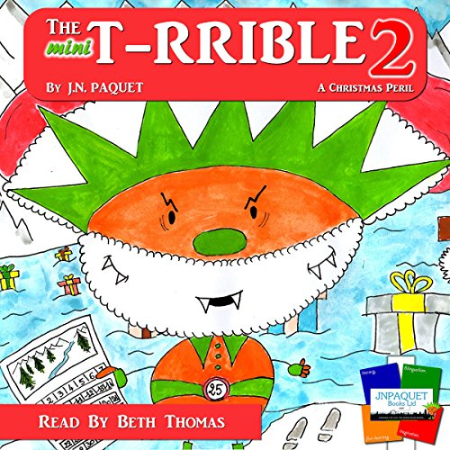 The Mini T-RRIBLE 2 audiobook cover art