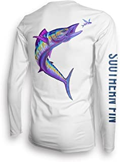 Long Sleeve Fishing T-Shirt for Men and Women, UPF 50 Dri-Fit Performance Clothing - Southern Fin Apparel