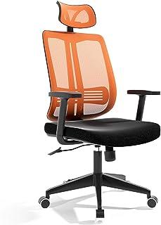 YLiansong-home Silla de reclinación de Oficina ergonómica Silla de Oficina de Malla Alta de la Espalda Silla de Escritorio de Escritorio de computadora ergonómica Ajustable Silla de Escritorio