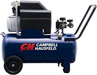 Campbell Hausfeld Air Compressor, 8-Gallon Horizontal Oil-Lubricated 3.7CFM 1.3HP 120V..