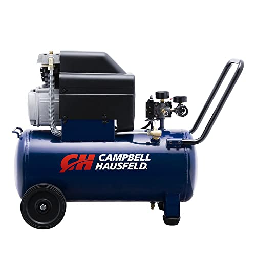 Campbell Hausfeld Air Compressor, 8-Gallon Horizontal Oil-Lubricated 3.7CFM 1.3HP