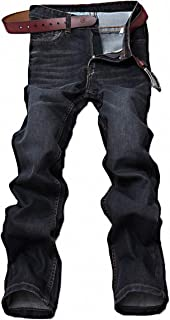 Men's Casual Style Straight Fit Jeans