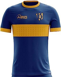 Airo Sportswear 2019-2020 Boca Juniors Home Concept Football Soccer T-Shirt Jersey