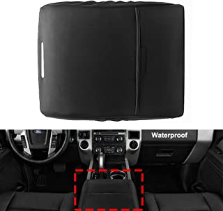 Ezzy Auto Black Center Console Lid Suture Cover Console Armrest Lid Box fit for Jeep Grand Cherokee
