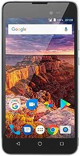 "Multilaser P9051, Smartphone 3G Quadcore 1Gb Ram Tela 5"" Dual Chip Android 7 Preto/Grafite, Cinza"