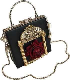 Victorian Handbag Gothic Purses Lolita Shoulder Bag for Women Vintage Clutch