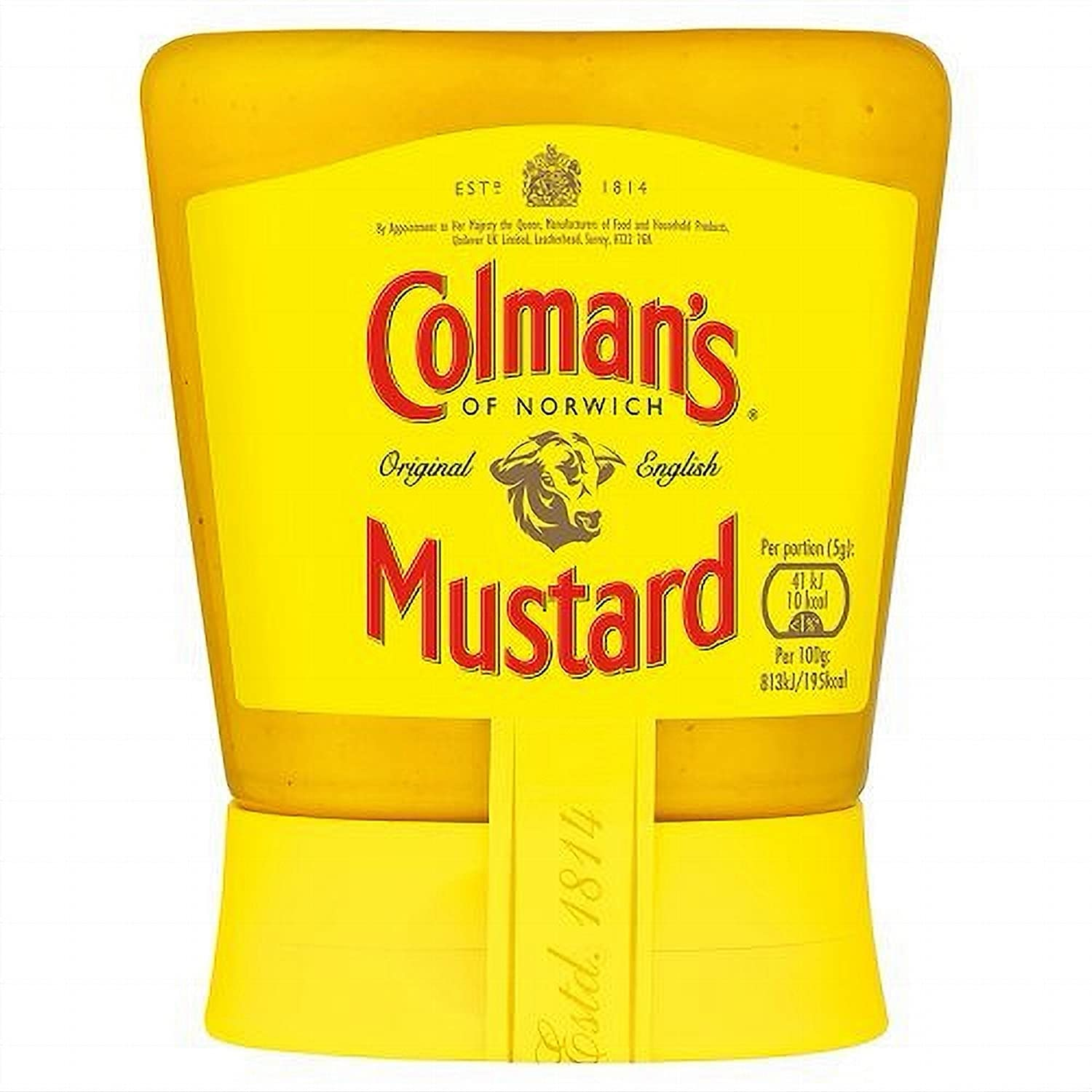 Colman's Original English Squeezy Ranking TOP17 Mustard Imported The E UK Oakland Mall From