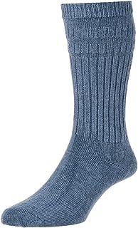 HJ Hall SOFTOP LOOSE TOP Socks WARM WOOL HJ95 6-11slate