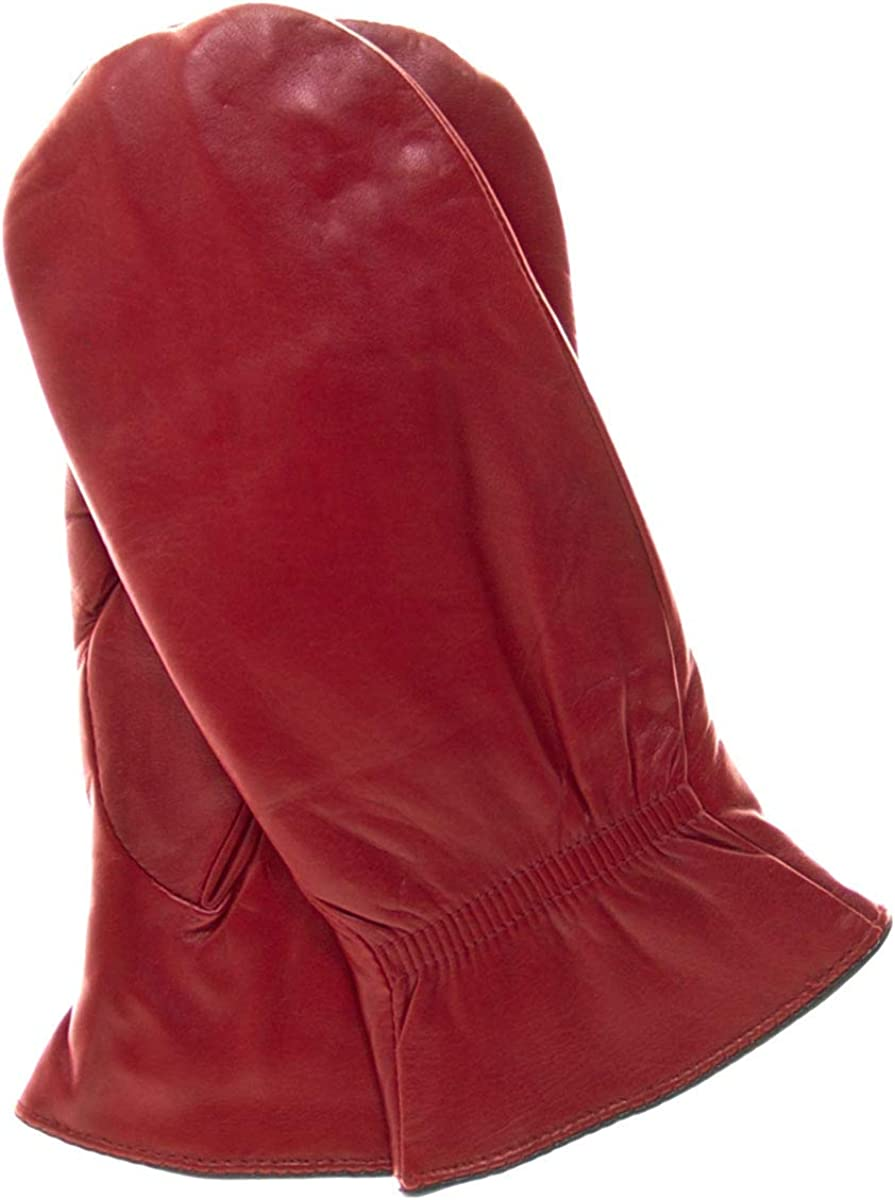 Breckenridge Women's Leather Mittens with Finger Liners by Pratt and Hart