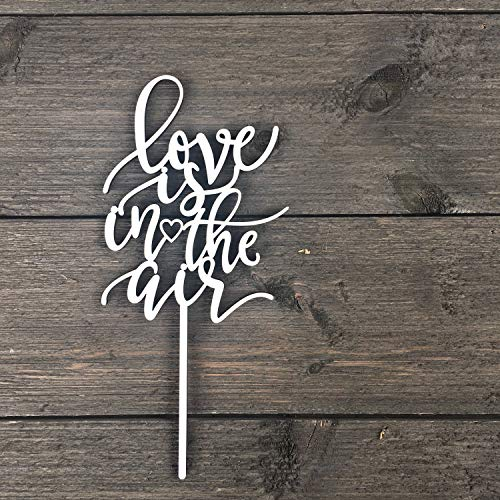 Love is in the Air Cake Topper 6