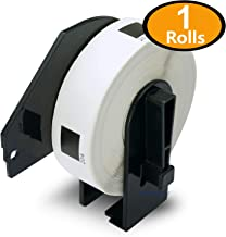BETCKEY - 1 Rolls Compatible Brother DK-1204 2/3