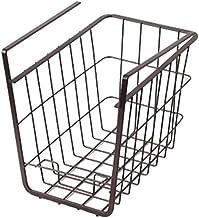 Overhead Shelf Hanging Basket - Matt Black (Dim: 16x25.5x21.5cm)