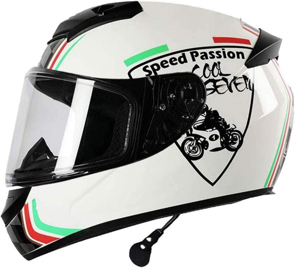 Helmets 2020 Professional Racing Casco Modular Bluetooth Casco Moto con Doble Objetivo Casco de la Motocicleta de la Cara Llena Cascos de Seguridad Casco Capacete ECE Homologado