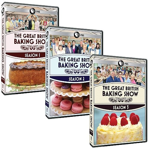 The Great British Baking Show: Complete Seasons 1-3 DVD Collection