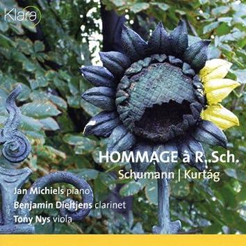 Schumann, Kurtag, Hommage à Robert Schumann