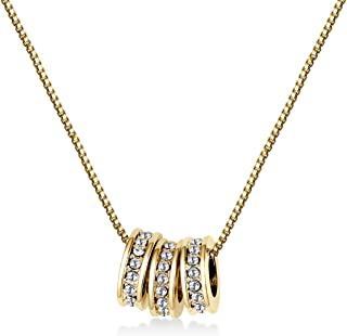 Mestige Women Necklace MSNE3970 with Crystals