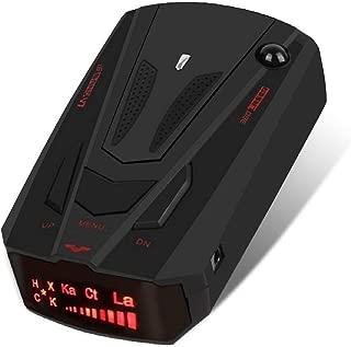 Radar detectors for Cars, Car Speed Testing System, 12V, Voice Reminder (Black)