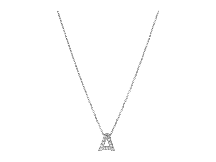 Roberto Coin Roberto Coin Diamond Initial Necklace